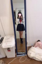 1/22体験入店初日ふみか(JK中退年齢18歳)