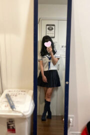 4/15体験入店初日ふうり(JK上がりたて18歳)